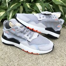 NEW Adidas Nite Jogger Athletic Running Shoes Gray Men's Size 10  -  DB3361