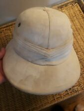 Vintage Men's Pith Helmet - made by H.A. & E. Smith Ltd. In Calcutta