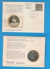 Enveloppe Timbre-Médaille en argent En l'honneur de l'exposition Babenberg