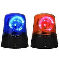 Novelty Rotating Blue&RED LED Police Car Beacon Disco Party Lamp Light J6N0