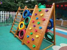 10Pcs Children Rock Climbing Wall Holds Climbing Stones Toys Child Playground
