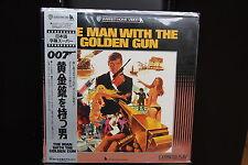 BOND 007 The Man with The Golden Gun NTSC LASERDISC WS OBI Japan Roger Moore