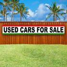 USED CARS FOR SALE Advertising Vinyl Banner Flag Sign LARGE HUGE XXL