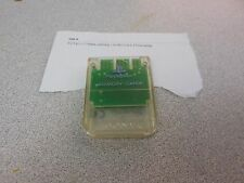 Crystal Clear SONY Brand PLAYSTATION 1 Memory Card PS1 Official Original *Works*