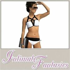 Bandeau Polyester Regular Size Swimwear for Women