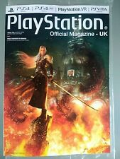 FINAL FANTASY REMAKE PlayStation Official Magazine #164 AUG 19 Subscriber Editio
