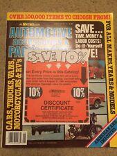 Vintage J C Whitney Co Automotive Accessories Parts Catalog No 411N August 1981
