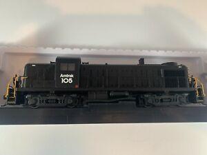 Atlas HO Classic Silver Alco RS-3 Locomotive #105 DCC ready
