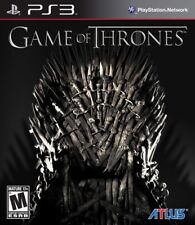 HBO Game of Thrones (PlayStation 3 RPG, ATLUS) PS3 Brand New/Sealed *RARE*