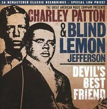 Devil's Best Friend 2009 by PATTON,CHARLEY / JEFFERSON,BLIND LEMON EXLIBRARY