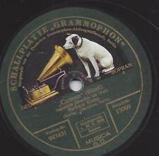 Sopran Barbara Kemp chante Carmen (Bizet) Accueil de 1912