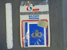 Pre 1998 USAF issue Master Weapons Silver Oxide badge, brand new never issued