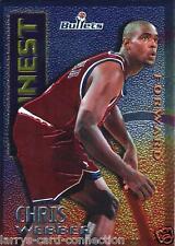 """Chris Webber 1995-96 95-96 Topps Finest """"Mystery"""" Insert #M8 Washington Bullets"""