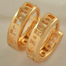 Fashion Perfect  Real Gold Plate Children Huggie earrings wholesale lot