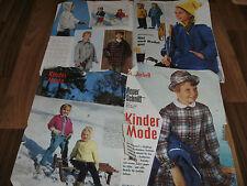 NEUE/NEUER SCHNITT Schwabe Sonderheft 11/1963:  KINDERMODE / von 1 bis 15 Jahre