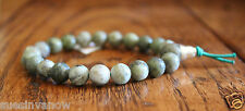 New Epidot Marble 8mm Chinese Bead Bracelet Green Stretch Adjustable Accessory