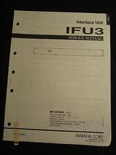 Yamaha Interface Unit IFU3 Service Manual Factory OEM IFU-3