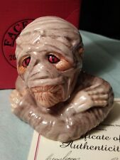 Kevin Francis Face Pots 2004 The Mummy