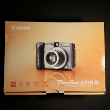Canon PowerShot A710IS  7.1MP 2.5'' Screen  6X Zoom Digital Camera with Case