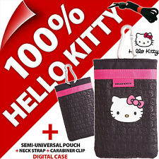 Hello Kitty Phone Case Cover Pouch Bag for Candy Bar Phones Nokia 6303 108 106