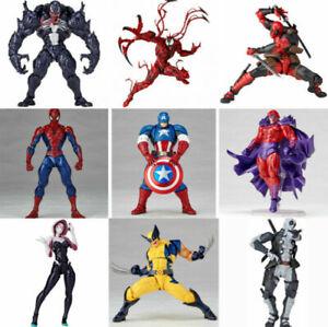 Yamaguchi Marvel Venom Spider-Man Carnage Action Figure Model Toy Christmas Gift