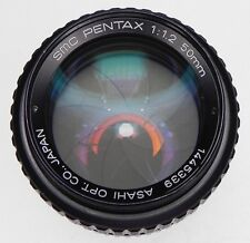 Pentax SMC 50mm f1.2 K mount   #1445339