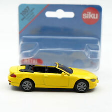 Siku 1007 BMW 645i Cabrio Convertible Cabriolet Toys Car Mddel Diecast Vehicles
