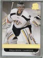 11/12 Upper Deck The Cup Pekka Rinne Gold Base #'ed 01/25