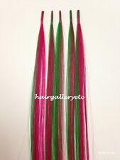 "12"" I tip Fusion 100% Human Hair Extension-5 pcs + Micro Hair Beads Hook or Loop"