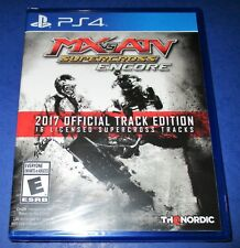 MX vs. ATV Supercross: Encore - 2017 Official Track Edition PS4 *New *Free Ship!