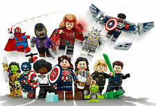 Lego® MINIFIGUREN? - 71031 MARVEL STUDIOS? DISNEY KOMPLETT 12er SET / UNBESPIELT