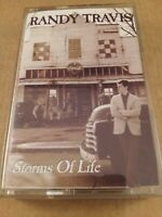 Randy Travis : Storms Of Life : Vintage Cassette Tape Album from 1986