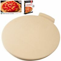 """New! The Ultimate Pizza Stone - 16"""" Round 7/8"""" Thick for Bread & Pizza"""