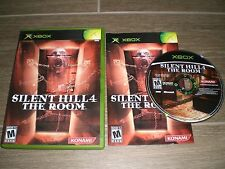 Silent Hill 4 IV The Room Complete CIB & in GREAT COND for original Xbox!