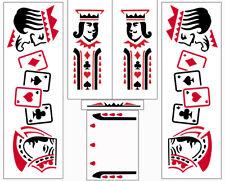 Gottlieb Royal Flush Pinball Machine Cabinet Decals