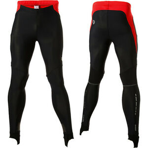Pearl Izumi Men's P.R.O. Softshell Cycling Tight Without Chamois White or Black