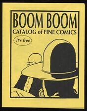 David Lasky Signed Comic Brochure Catalog Autographed Signature Cartoonist