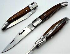 Taschenmesser-Laguiole-Jagdmesser-Taschen Messer-Klappmesser-Holz  19cm   (DVS5)