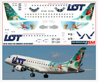 1:144 PAS-Decals #PF-14419 Photo glazed cockpit on the Embraer 190//195//170//175