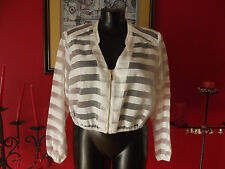 City Chic Striped Coats, Jackets & Vests for Women