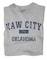 Kaw City Oklahoma OK T-Shirt EST