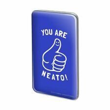 You Are Neato Cool Funny Humor Metal Rectangle Lapel Hat Pin Tie Tack Pinback