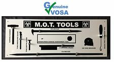 MOT SIGNS | MOT SIGN | VOSA DVSA | EMPTY MOT TOOLS SHADOW BOARD + FREE GIFT