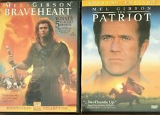 Braveheart/The Patriot (Dvd, 2000)*Mel Gibson