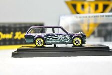 Hot Wheels Event Car Datsun 510 Wagon Chameleons Colour Custom With Display Box