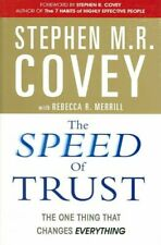 The Speed of Trust The One Thing that Changes Everything 9780743295604