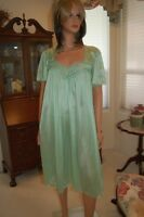 CLOSE OUT SALE-SHEER DELIGHT, ACERS OF  NYLON NIGHTGOWN, WALTZ LENGTH, MEDIUM