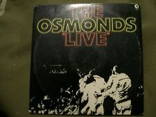 THE OSMONDS LIVE 2 RECORD SET 1972 MGM 2SE 4826