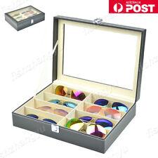 NEW 8 Grids Sunglasses Eyeglasses Glasses Display Box Case Storage Organizer AU