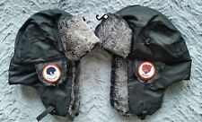 New Chicago Bears Trapper Bomber Aviator Russian Earflap Vintage Patch  Hat